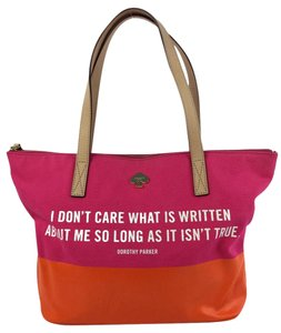 Kate Spade Tote in Pink and Orange