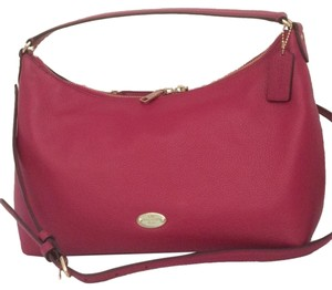 Coach Leather Hobo Cross Body Crossbody Shoulder Bag