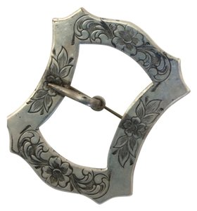 Other Sterling Silver overlay belt buckle