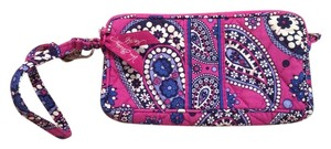 Vera Bradley Wristlet in Boysenberry