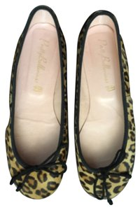 Pretty Ballerinas Black beige Flats