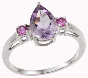 Unknown Amethyst Pink Sapphire Ring