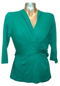Banana Republic Top Emerald Green