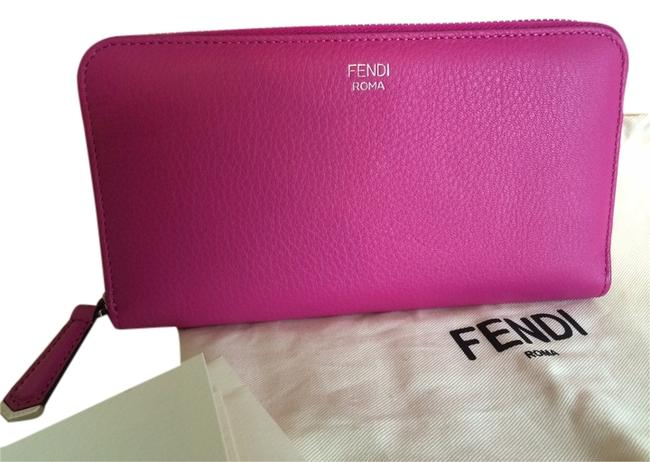 Item - Magenta and Navy 2jours Zippered Wallet