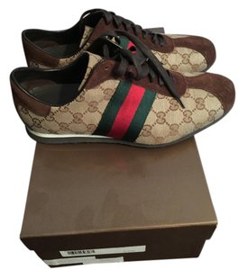 Gucci Classic brown with green and red stripe Athletic