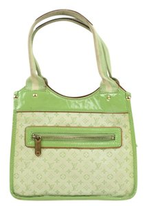 Louis Vuitton Kathleen Kathy Cathy Cathleen Mini Lin Satchel in green