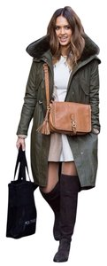 Alice + Olivia Trench Parka Fur Parka Winter Jacket Trench Coat
