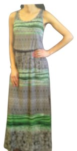 Jungle Green Maxi Dress by Fever Maxi Length Belted Summer