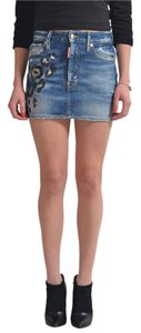 Dsquared2 Mini Skirt Blue