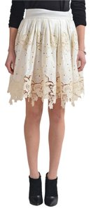 Just Cavalli Skirt Cream
