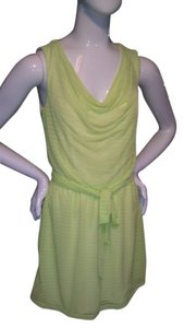 Express short dress Neon Yellow/Green Neon Summer on Tradesy