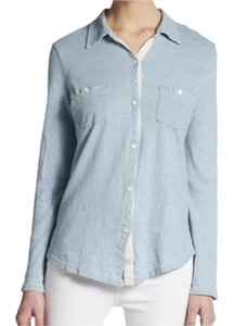 Splendid Button Down Shirt light blue