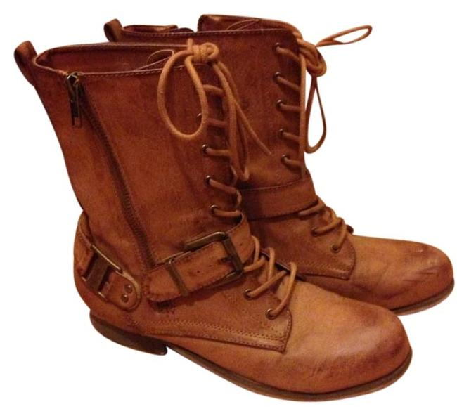 Item - Brown Boots/Booties Size US 7.5
