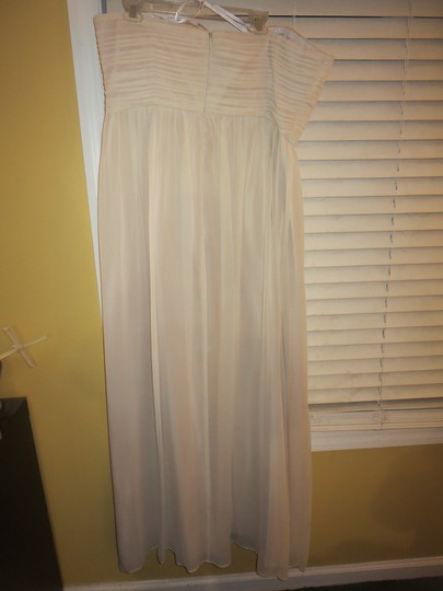 Donna Morgan Candlelight Chiffon Formal Bridesmaid/Mob Dress Size 18 (XL, Plus 0x) Image 3