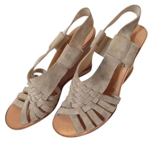 Sigerson Morrison Light Gray Wedges