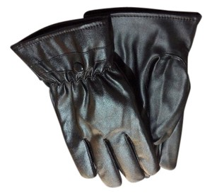 Other Black PU Leather Men's Gloves Free Shipping