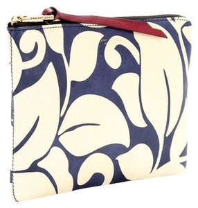 Marc Jacobs Blue and Ivory Clutch