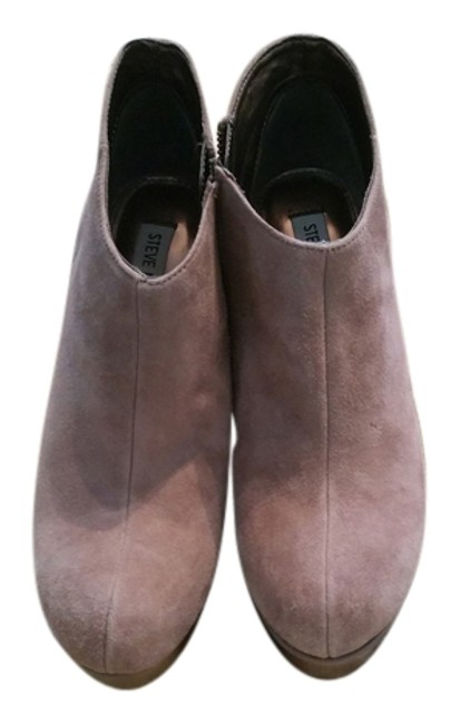 Item - Blush Suede Boots/Booties Size US 8.5 Regular (M, B)