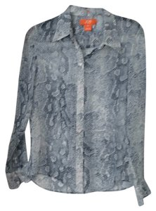 Joe Fresh Button Down Shirt Blue