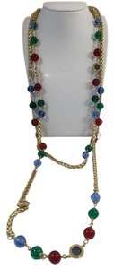 Chanel Vintage Chanel Gripoix Crystal Sautoir Necklace