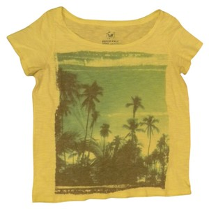 American Eagle Outfitters T Shirt Yellow