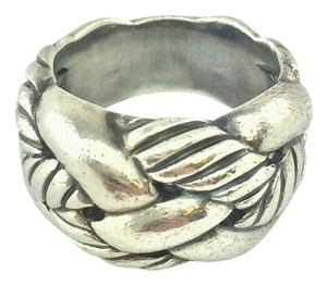 David Yurman David Yurman Sterling Silver Woven Cable Ring