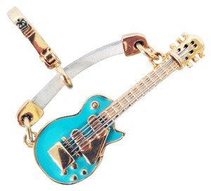 Juicy Couture Juicy Couture Retired 2007 Blue Guitar Charm, **VERY RARE**
