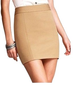 Express Mini Skirt Camel