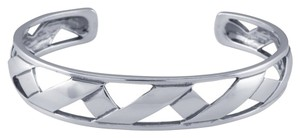 Other Modern Sterling Silver Origami Ribbon Cuff Bracelet by BrianG @ BrianGdesigns