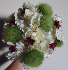Beautiful Faux Flower Bridal Bouquet