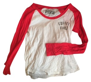 Victoria's Secret T Shirt Red/white