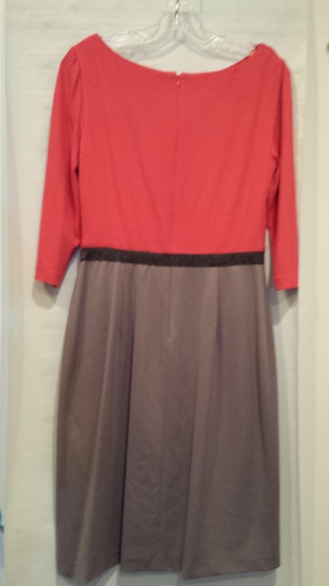 Kay Unger Color-blocking Office Dress