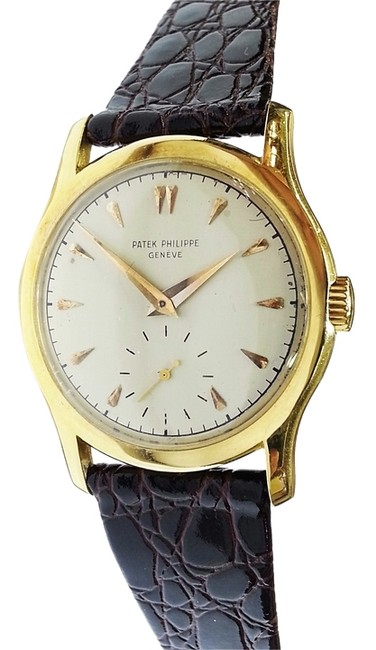 Patek Philippe Vintage 18 Karat Yellow Gold Watch Patek Philippe Vintage 18 Karat Yellow Gold Watch Image 1