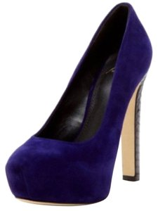 B Brian Atwood Purple Platforms