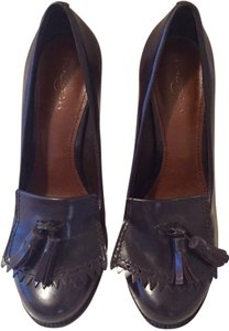 Halogen Tassel Fringe Classic Pump Burgundy Brown Pumps