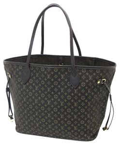 Louis Vuitton Neverfull Mm Tote in Dark Brown