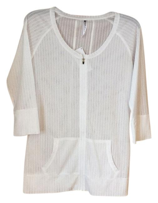 Item - White 394896 Activewear Top Size 8 (M, 29, 30)