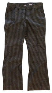 Express Boot Cut Pants Black pin striped