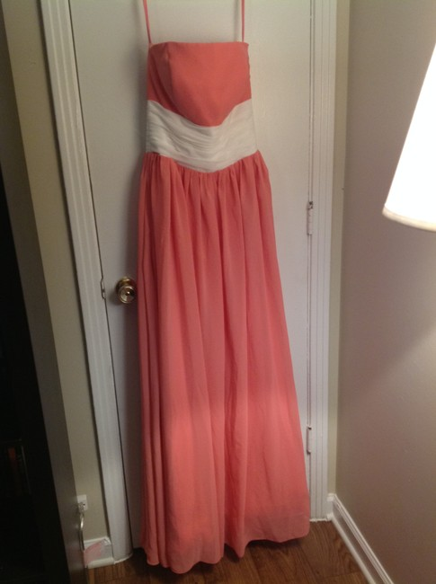 TB dress Ball Prom Gown Full Length Bridesmaid Dress Image 3