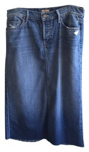 Mother Skirt Denim blue