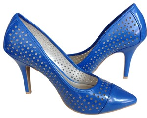 Christian Siriano Blue Pumps