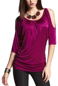 Express Tunic Top Wild Orchid