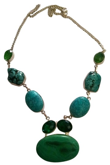 Preload https://item5.tradesy.com/images/other-new-turquoise-emerald-gemstone-necklace-925-silver-j260-1184489-0-0.jpg?width=440&height=440