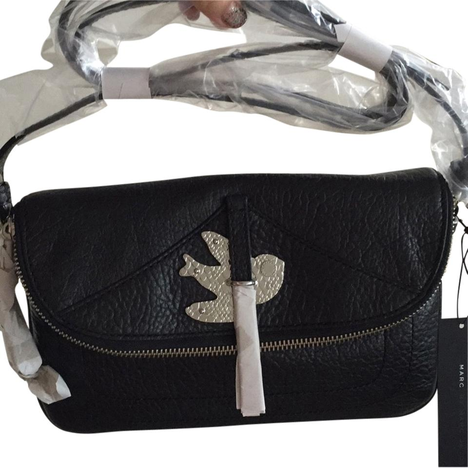 d5d5237f242a Marc by Marc Jacobs Petaltothemetal Metallic Hardware Birds Designer Silver Cross  Body Bag Image 0 ...