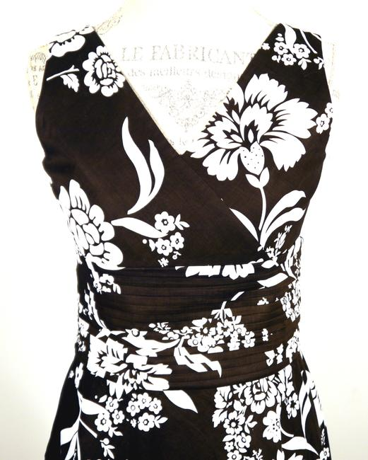 Ann Taylor short dress Brown and White on Tradesy