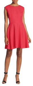 deux lux short dress HIBISCUS Cap Sleeves Cut-out Lined A-line on Tradesy