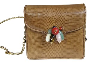 Judith Leiber Vintage Lizard Shoulder Bag