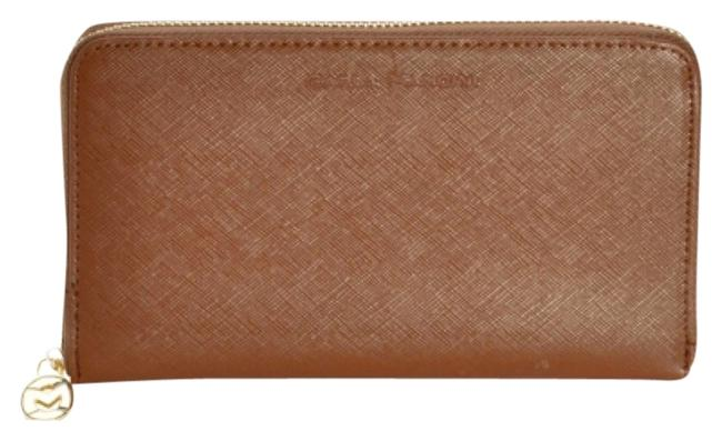 Item - Brown New Saffiano Leather Jenny Wallet