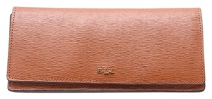 Ralph Lauren * Ralph Lauren Brown Lauren Wallet - Skinny Envelope