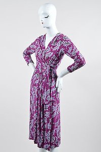 Emilio Pucci Silk Floral Dress
